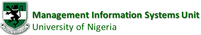 Management Information Systems Unit, University of Nigeria Nsukka