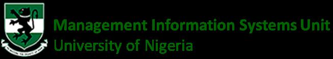 Management Information Systems Unit, University of Nigeria Nsukka